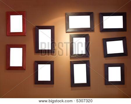 Ten Frames On Wall