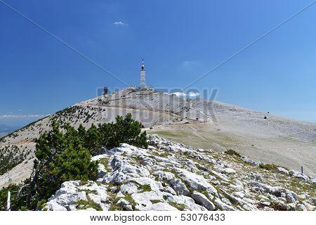 Peak of Mont Ventoux