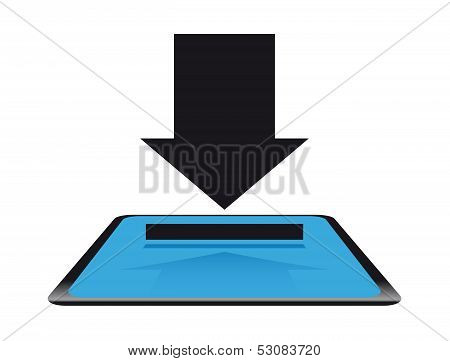 Modern download button