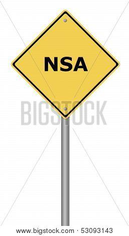 Warning Sign Nsa