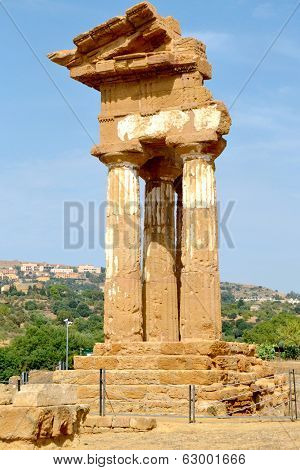 Temple of the Dioscuri