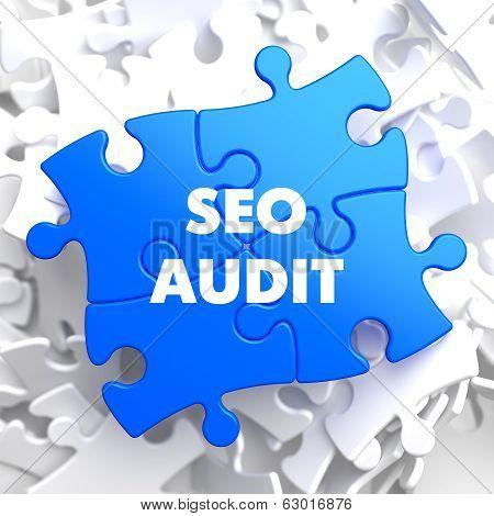 SEO Audit on Blue Puzzle.
