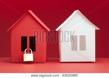 concept - Safety real estate
