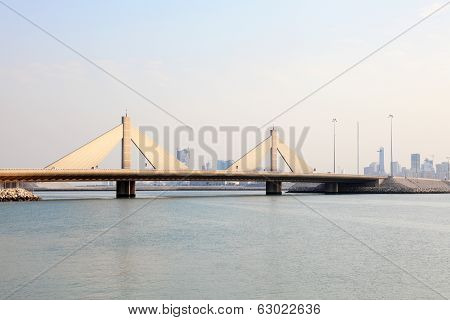 Sheikh Isa Bridge In Bahrain