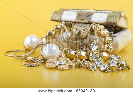 Gold Jewellery Concept