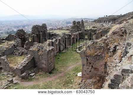 Ruins In Bergama