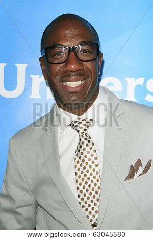 PASADENA - APR 8: J. B. Smoove at the NBC/Universal's 2014 Summer Press Day held at the Langham Hotel on April 8, 2014 in Pasadena, California