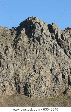 Crib Goch Buttress.