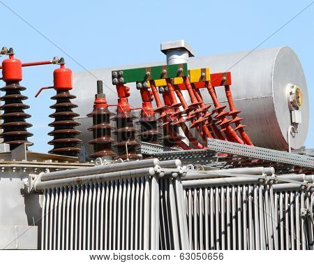 Connectors And High-voltage Cables Of The Transformer