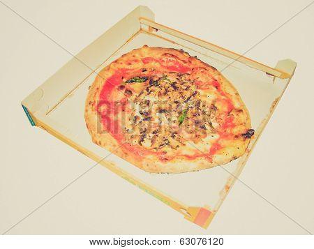 Retro Look Pizza Picture