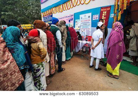 Emergency Medical Camp At Babughat, Kolkata, India
