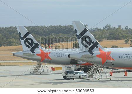 Jetstar airplanes