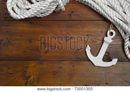 Maritime Anchor Decoration - Cruise - Lifeline