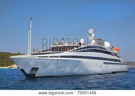 Luxury - Motor boat. Motor Yacht