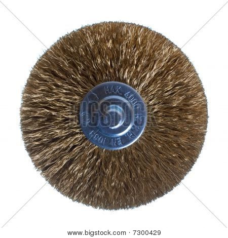 Grinding Wheel Isolated On White
