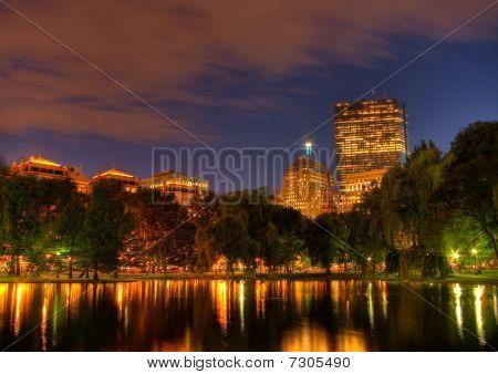 Sunset Over Boston's Copley Square