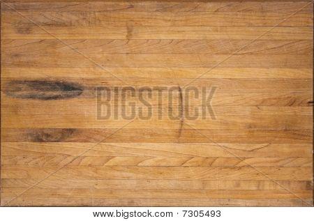 Aged Butcher Block Cutting Board