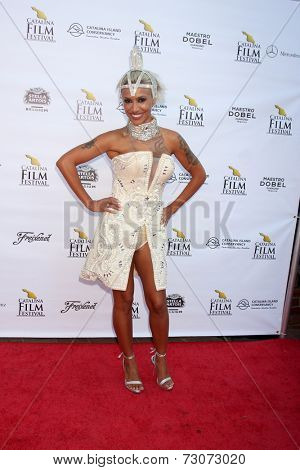 AVALON - SEP 27:  Marley Munroe at the Catalina Film Festival Gala at the Casino on September 27, 2014 in Avalon, Catalina Island, CA