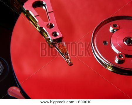 Hard disk red