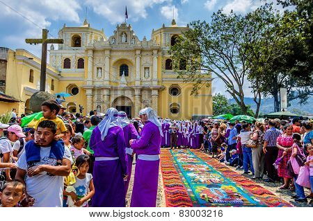 Palm Sunday Spectacle, Antigua, Guatemala