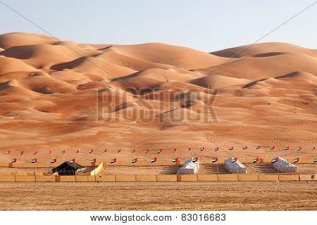 The Moreeb Dunes in Abu Dhabi