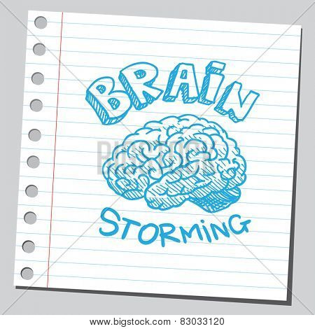 Brain storming announcement