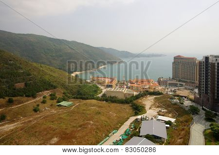 Apartment Blocks In Lantau Island