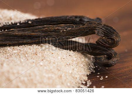 Vanilla Sugar And Vanilla Beans