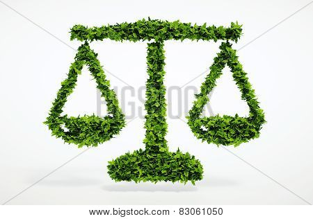 Eco Scales Sign