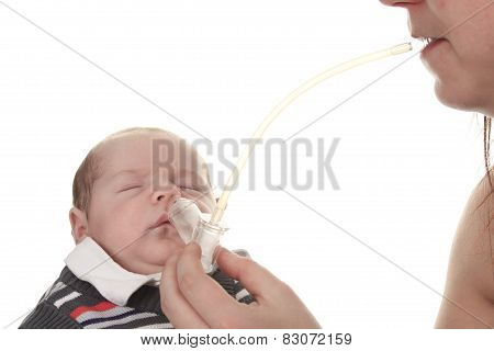 Baby nose lead