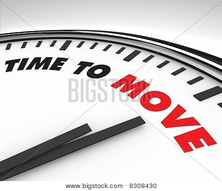 Time To Move - Clock