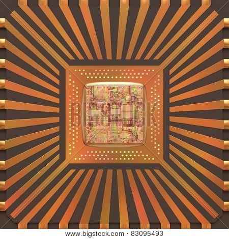 3D Microchip Core