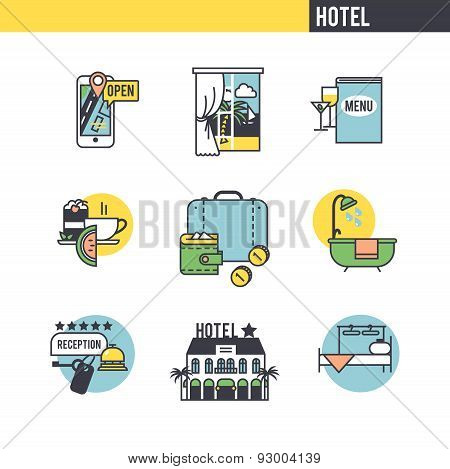 The concept of the hotel.
