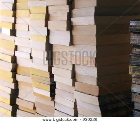 Piled Books 2