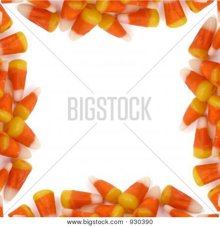 Halloween - Candy Corn-Grenze