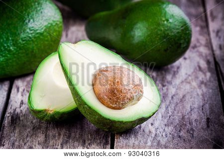 Fresh Raw Avocado