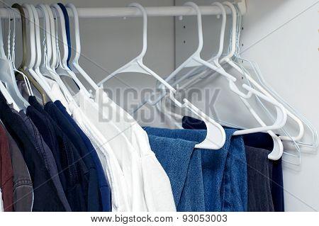 View Inside Closet