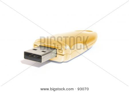 Golden USB Memory Stick poster