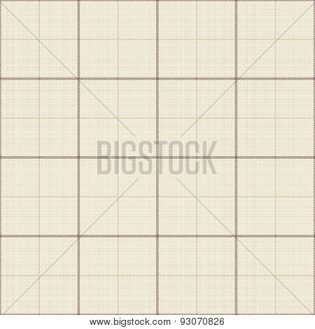 Seamless Beige Texture With Checkered Pattern