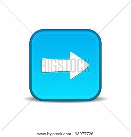 Play button blue