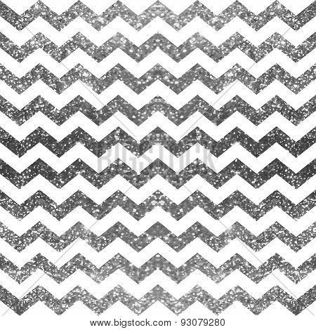 Silver glitter pattern