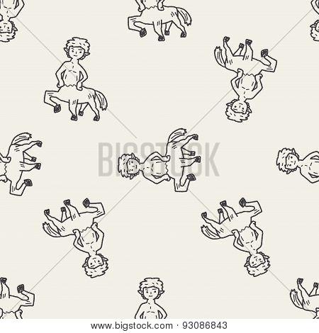 Centaur Doodle