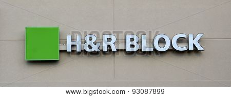 H&r Block Store Logo