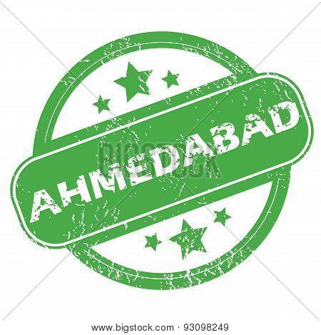 Ahmedabad green stamp