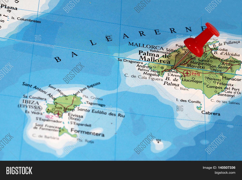 Map Pin Point Palma De Image & Photo (Free Trial) | Bigstock