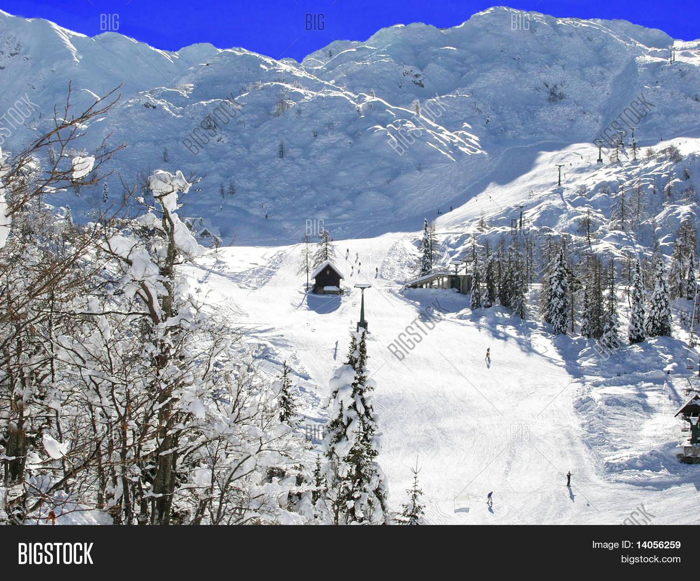 ski resort bovec. image & photo (free trial) | bigstock