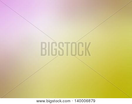 Abstract gradient yellow pink colored blurred background.