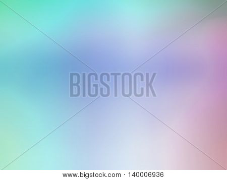 Abstract gradient purple pink teal colored blurred background.
