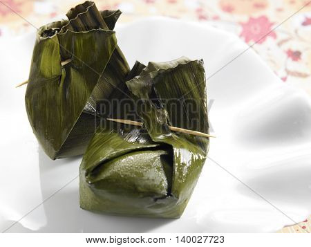 Indonesia traditional pastry kueh bugis
