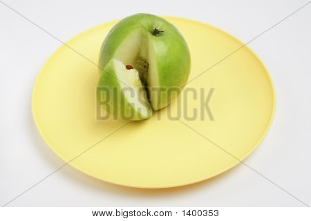 The Center Of An Apple